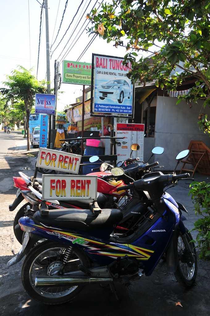 Bike Rentals, Commuting in Bali