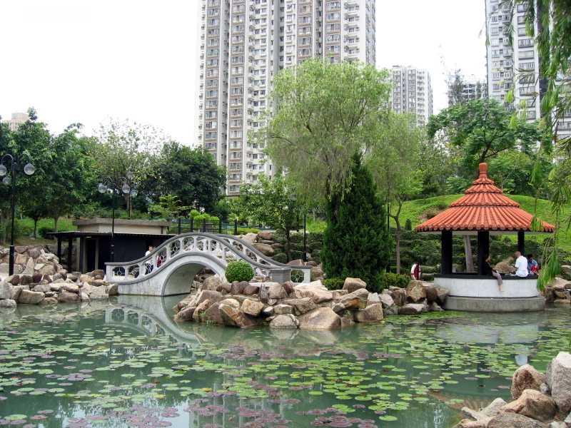North Garden, Sha Tin Park