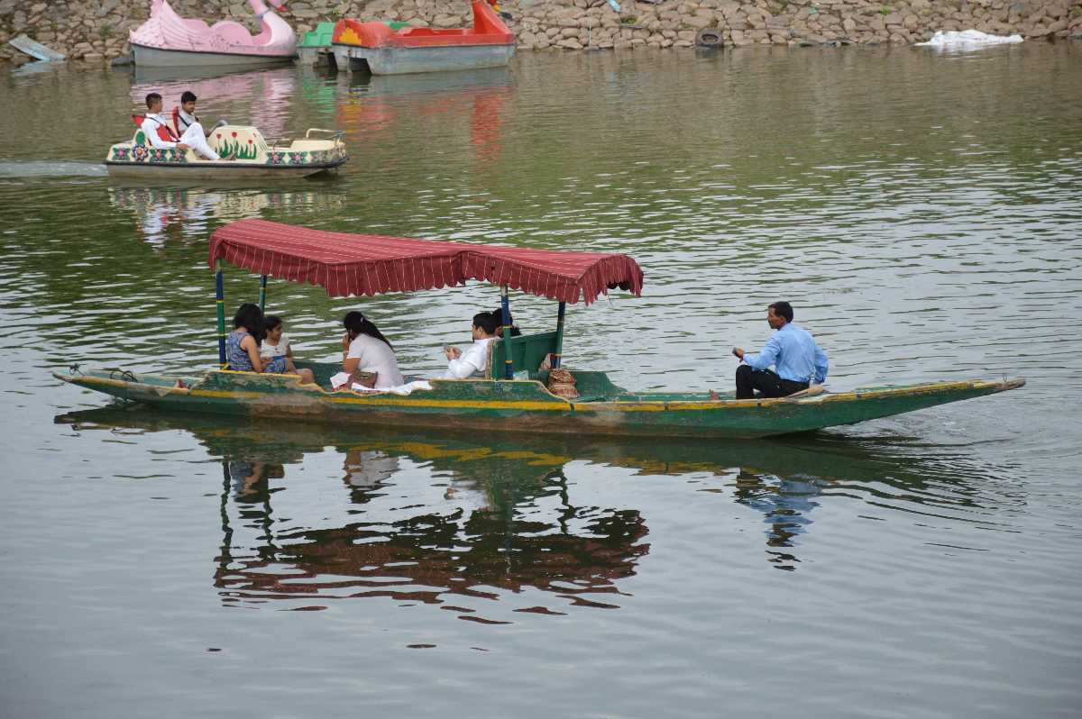 Sukhna Lake, Boating in India