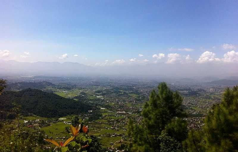 Kathmandu Valley View, Shivapuri Nagarjun National Park, Camping in Nepal
