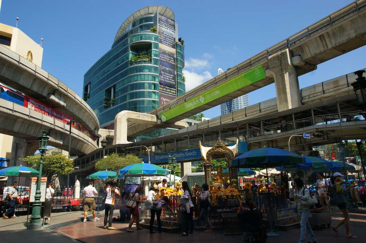 Siam Square Sky Train