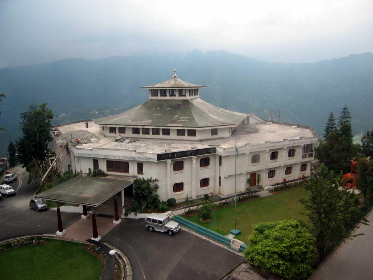 Sikkim Assemnly Gangtok