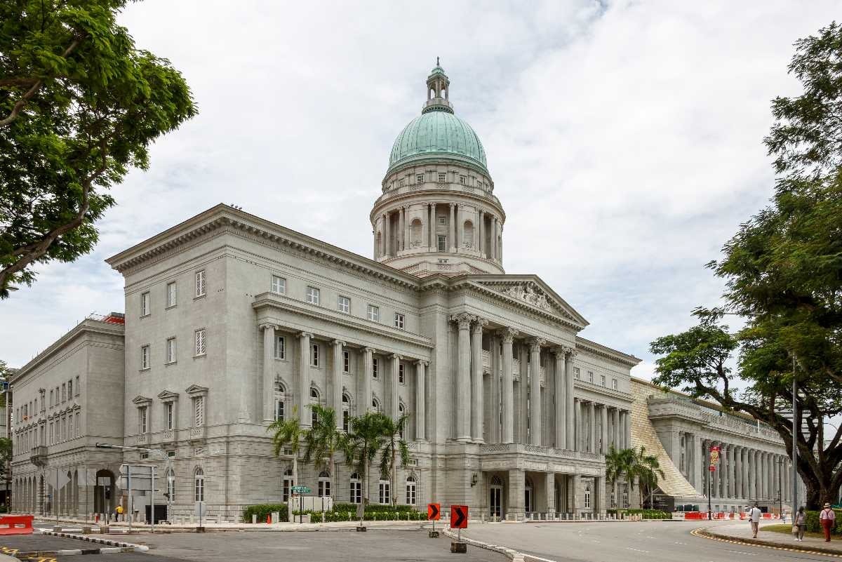 National Gallery of Singapore, Architecture of Singapore