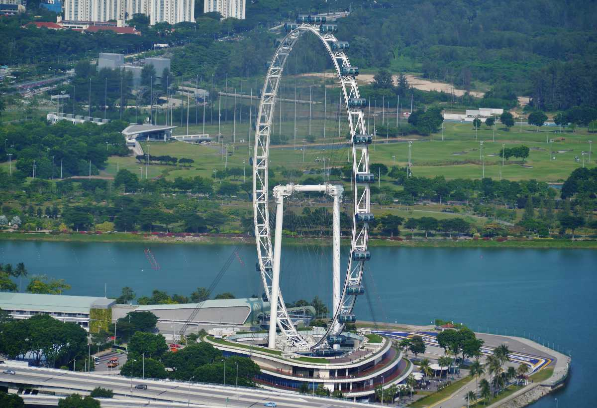 Singapore Flyer, Singapore with kids