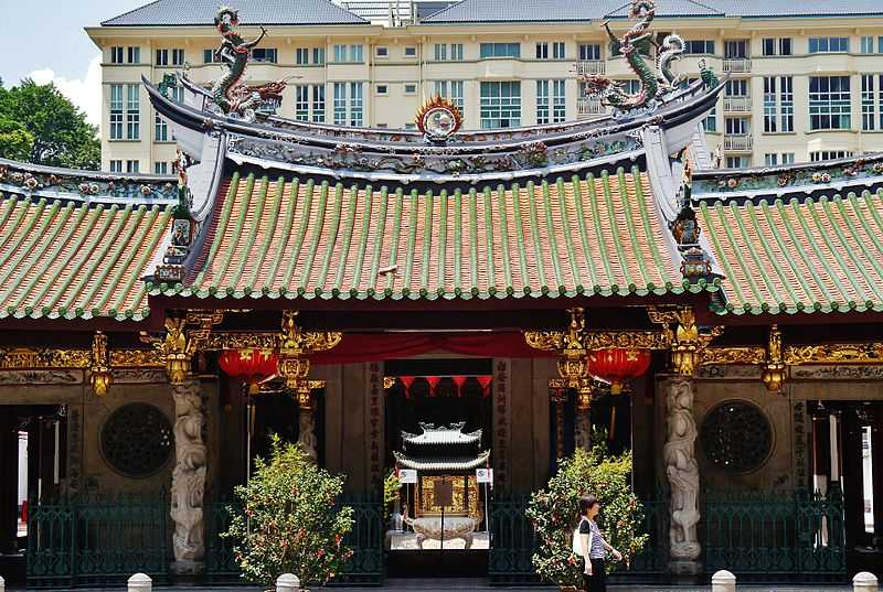 Thian Hock Keng Temple in Singapore