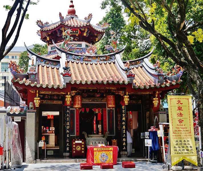 Thian Hock Keng Temple, Architecture of Singapore