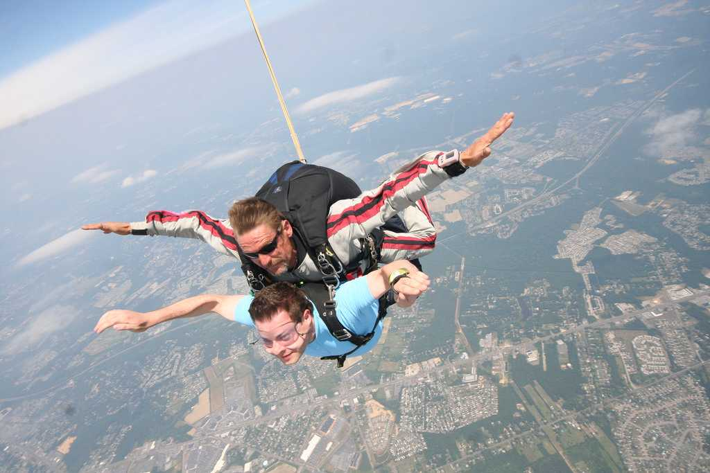 Skydiving in india, Skydiving in pondicherry