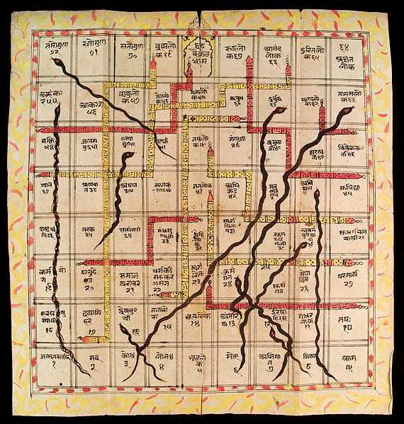 Snakes and Ladders, facts about india