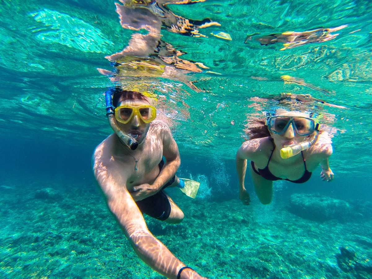 Snorkeling at Koh Tan, Koh Samui