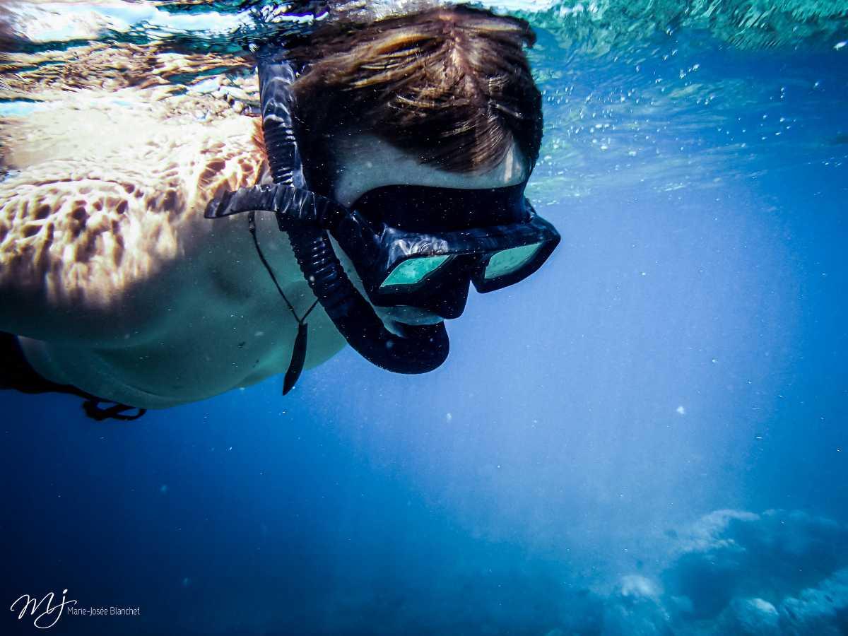 Snorkeling in Snoopy Island