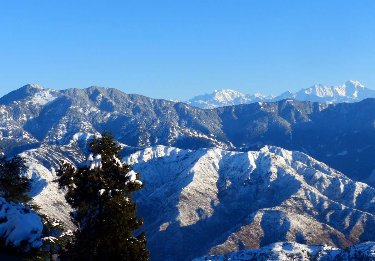View from Naag Tibba Trek