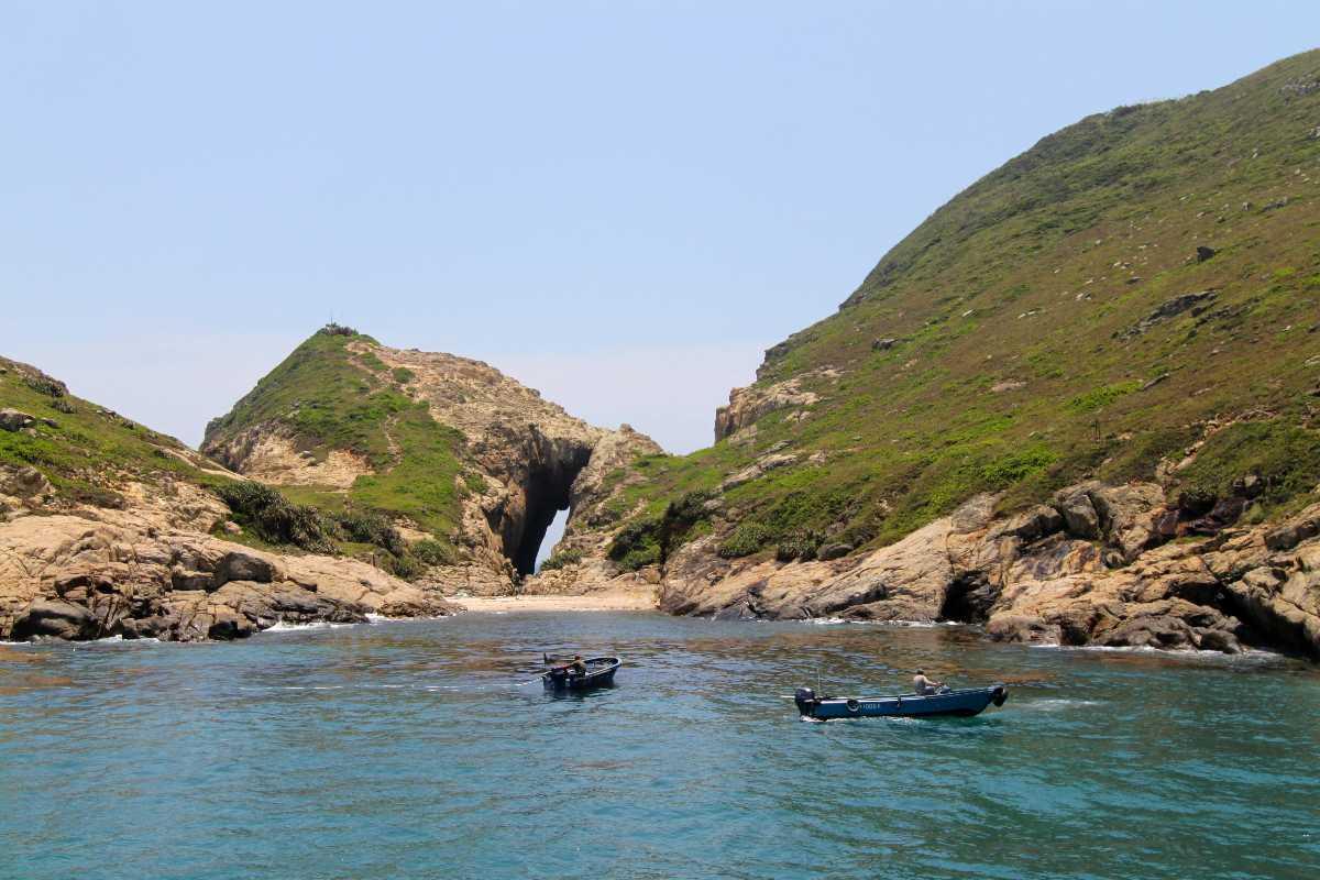 NInepin Island in Hong Kong