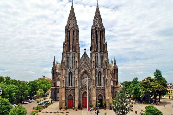 Image result for St. Philomena's Church, Mysuru