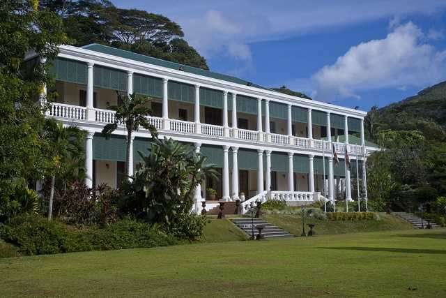 State House, History of Mahe