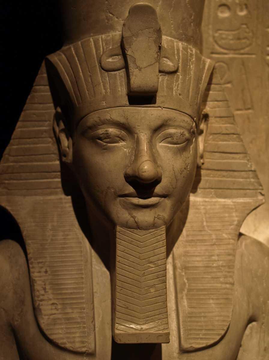 Egyptian collection, pharaoh statue