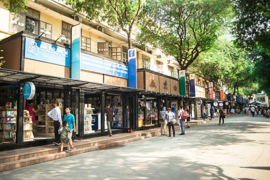 Book Street Ho Chi Minh City Vietnam