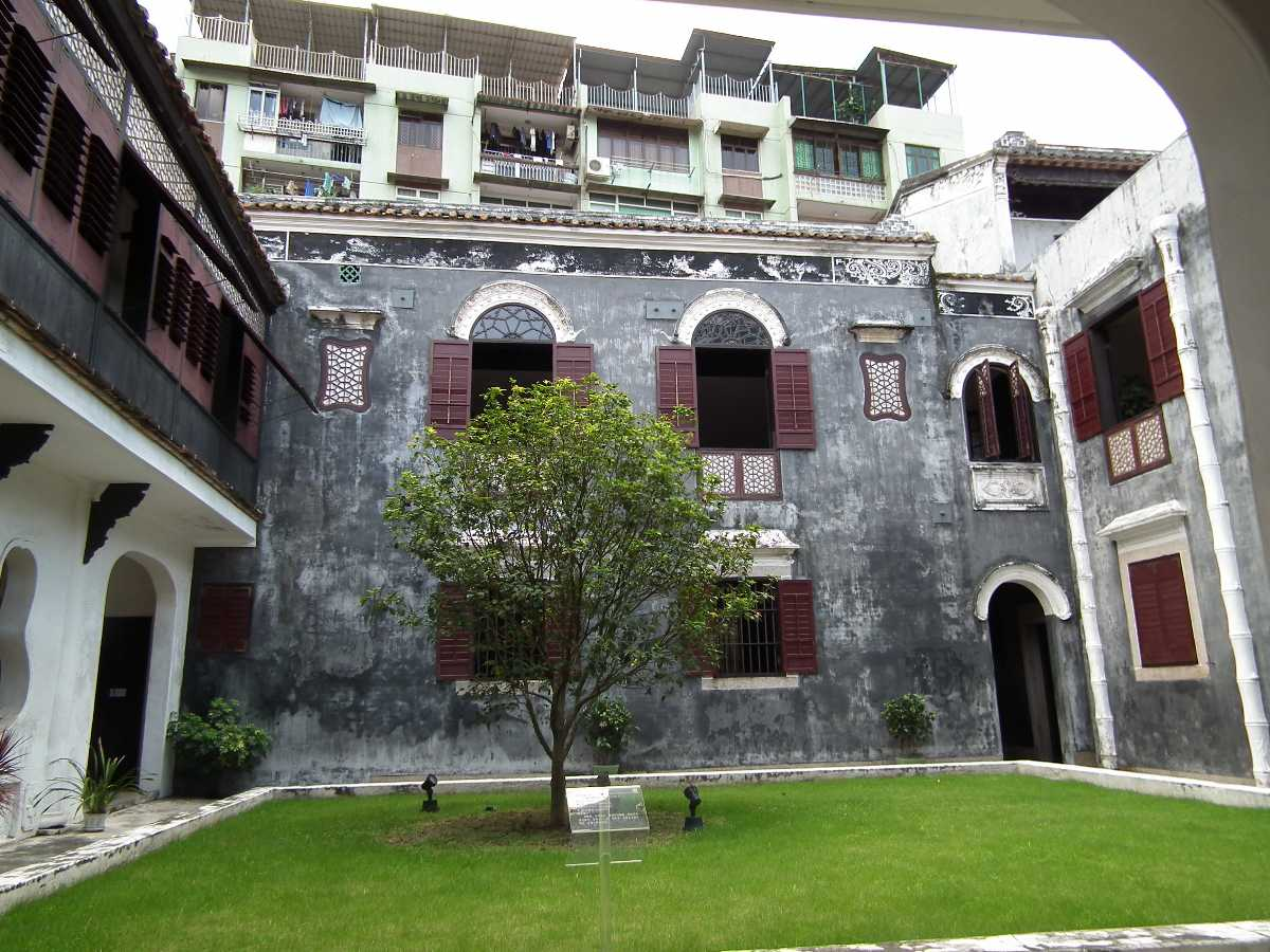 Structure of Mandarin House, Macau