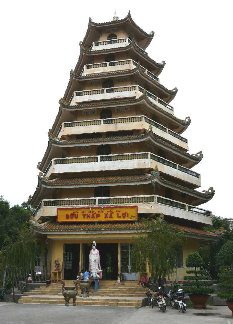 Giac Lam Pagoda Seven-Storied Stupa