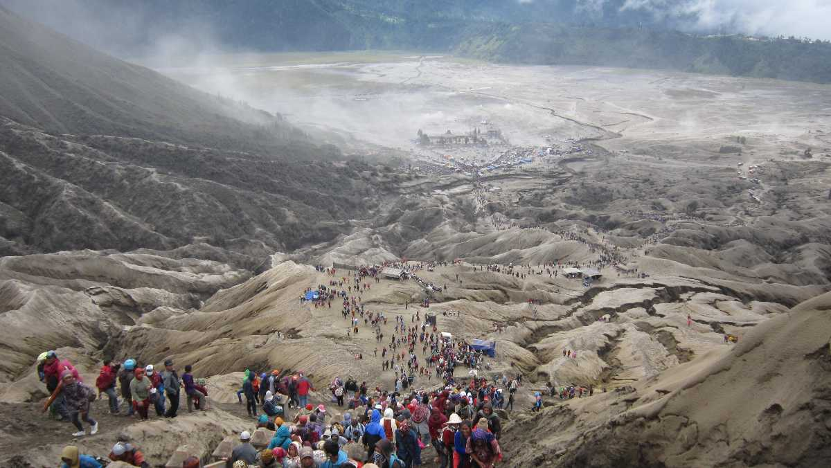 Yadnya Kasada Festival in Indonesia
