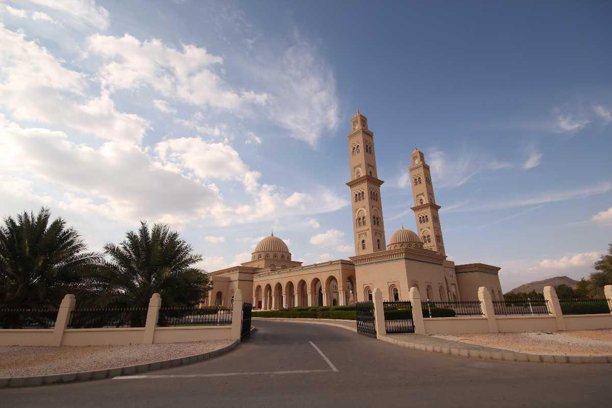 Sultan Qaboos Mosque, Bahla, Oman