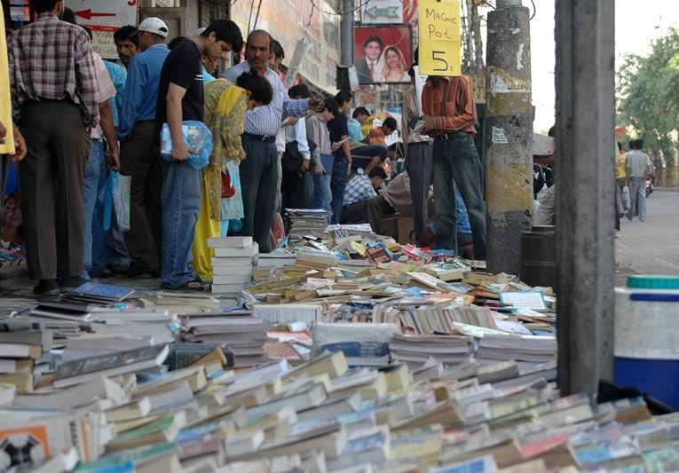 book bazaar, Daryaganj book market