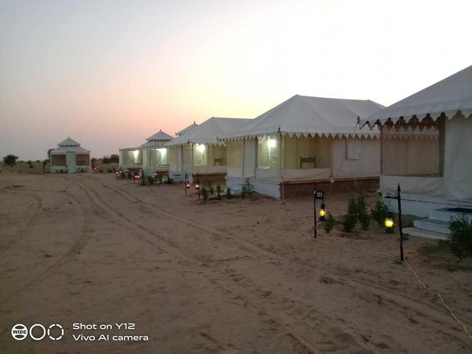 Sunny Desert Camp
