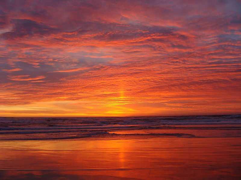 Sunset at Stewart Island