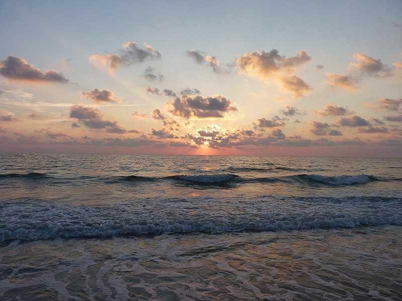 Sunset at Andaman