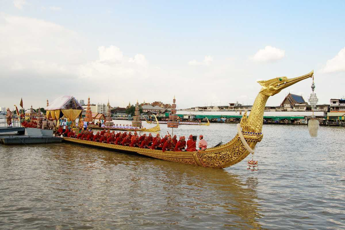 Suphannahong, the King's Royal Barge, National Museum of Royal Barges