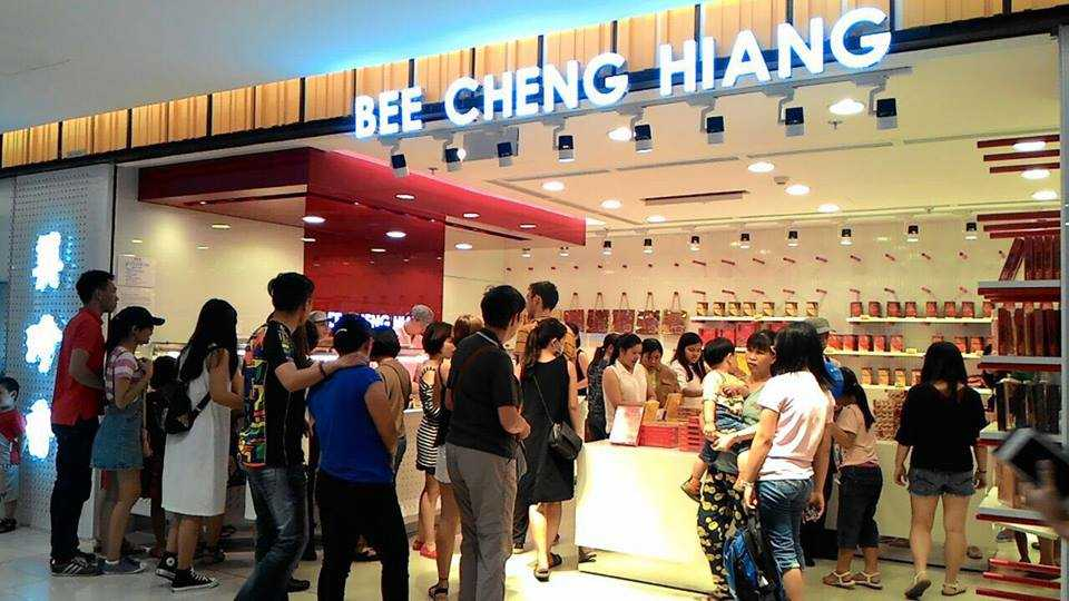 Bee Cheng Hiang at Takashimaya Ho Chi Minh City