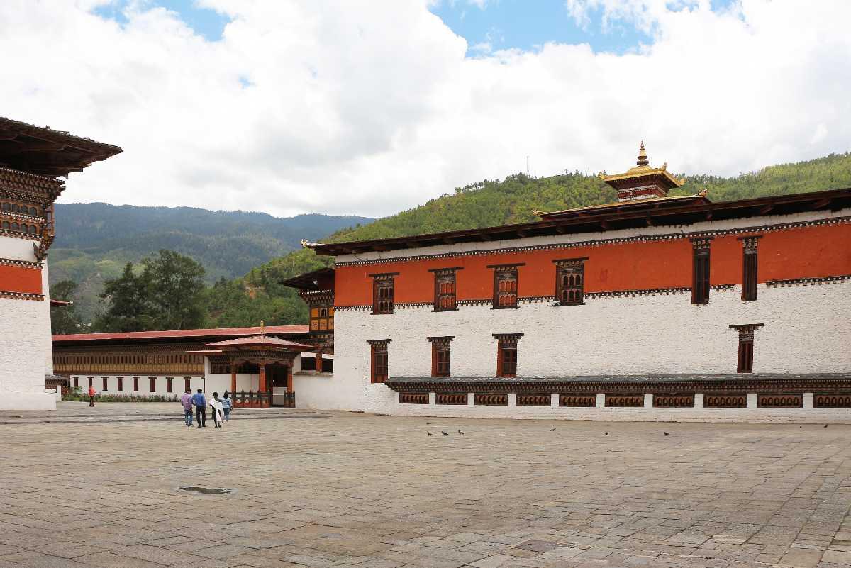 Tashichho Dzong Thimphu Bhutan