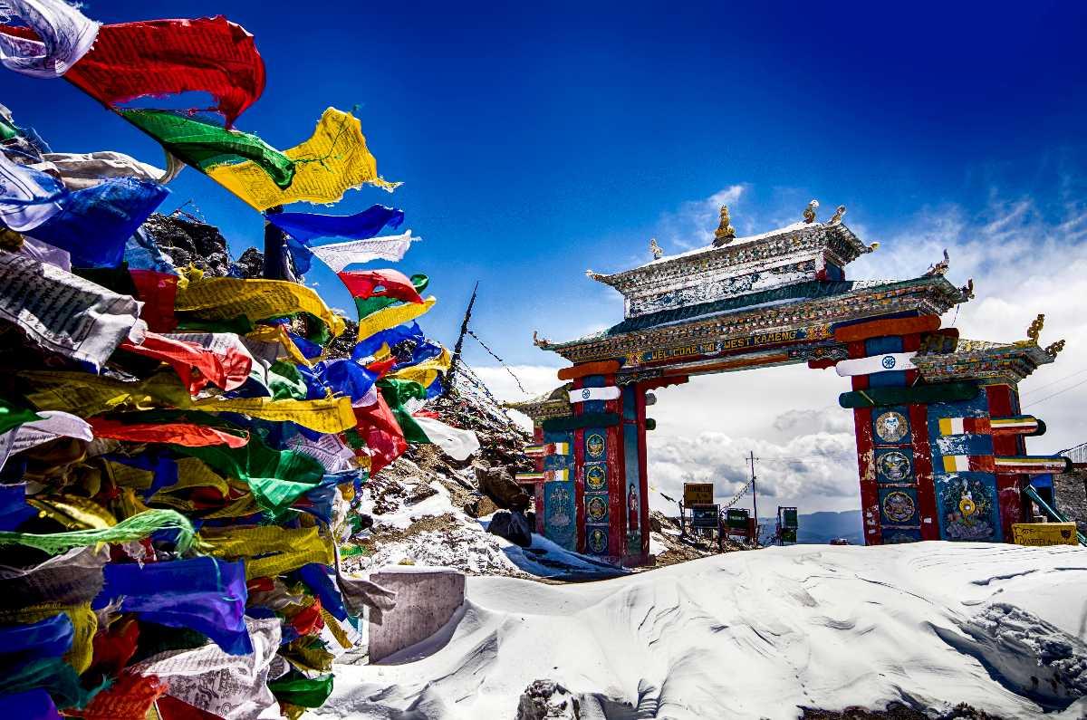 Tawang Gate in Winter