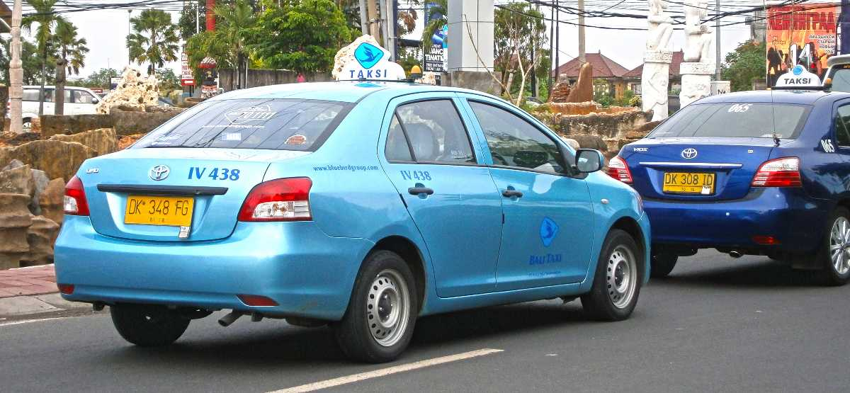 Taxis, Commuting in Bali