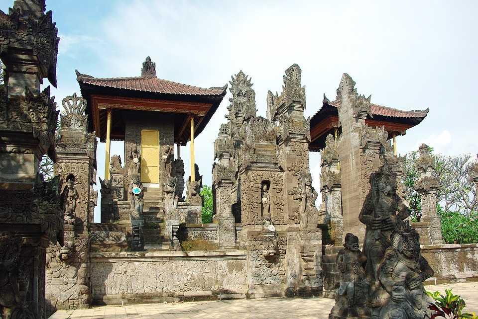 architecture of Indonesia