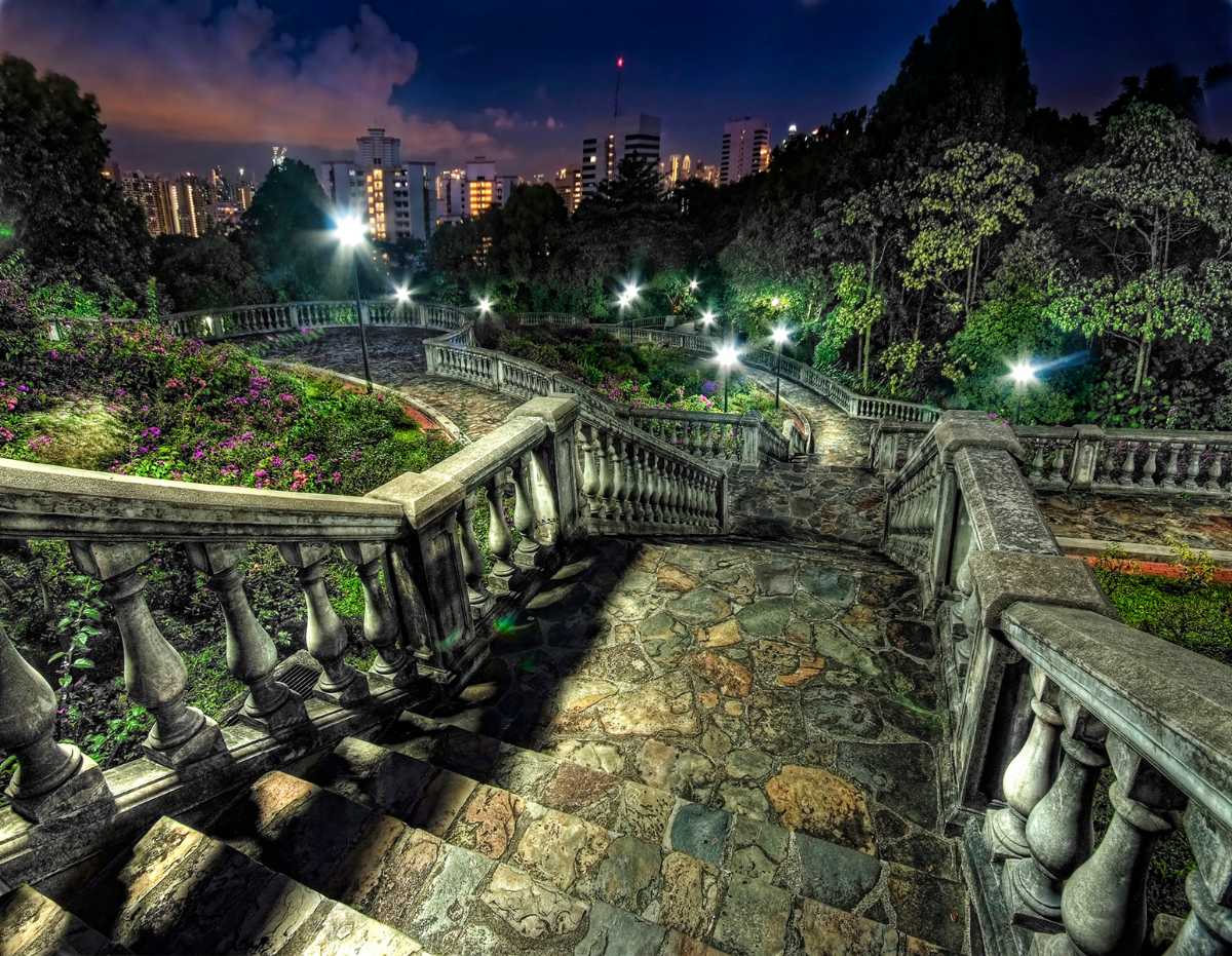 Mount Faber Park, Hiking in Singapore