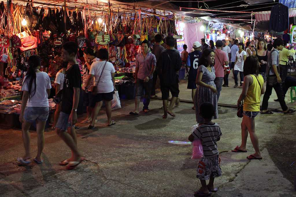 Night Markets, Honeymoon in Koh Samui