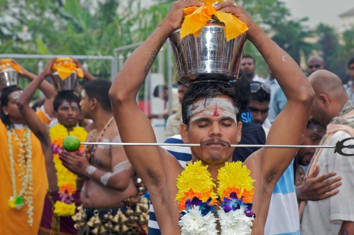 Thaipusam, Festivals In Singapore