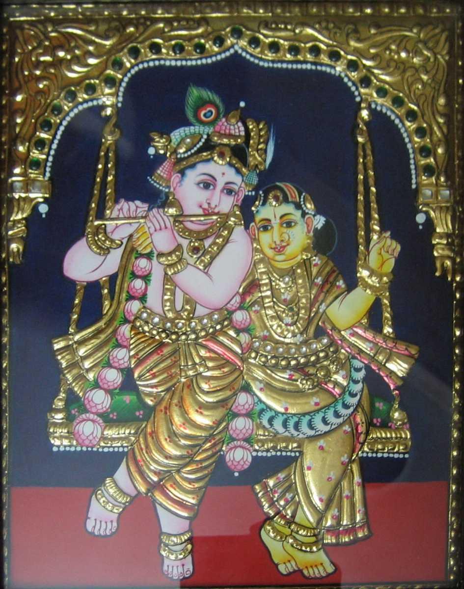 Thanjavur Paintings, shopping in tirupati