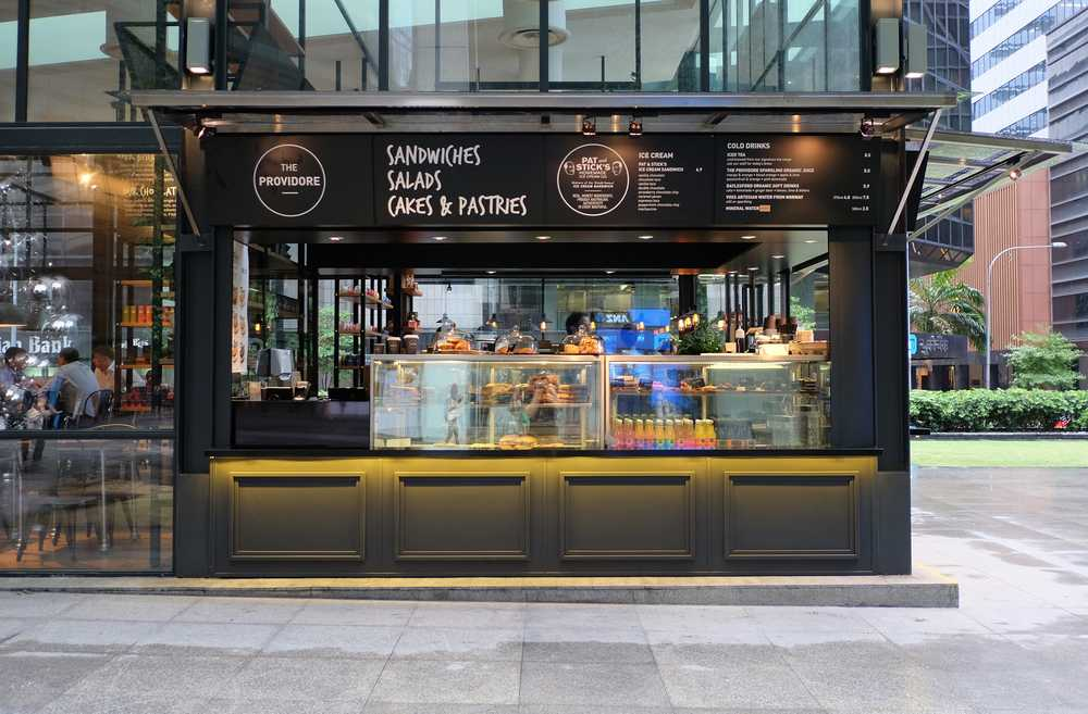 The Providore Raffles Place, Cafes in Singapore