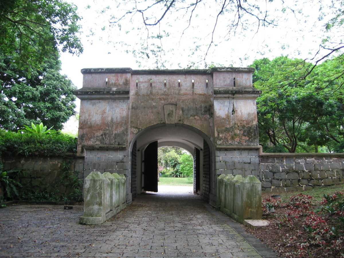 Fort Canning Hill, Romantic Places in Singapore