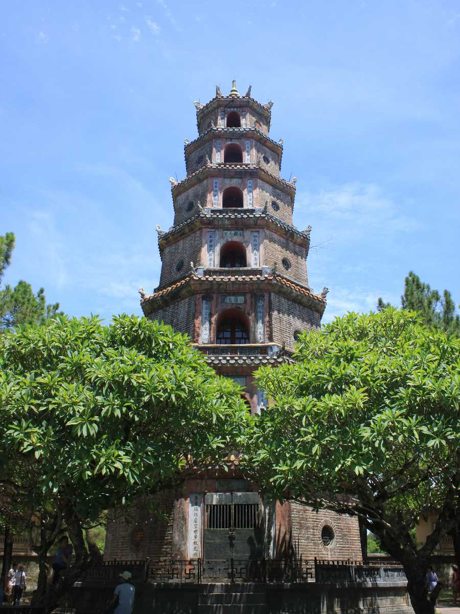 Thien Mu Pagoda, Buddhist Temple in Vietnam