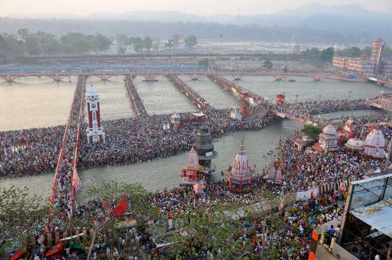 Shahi Snan in Hari Ki Pauri