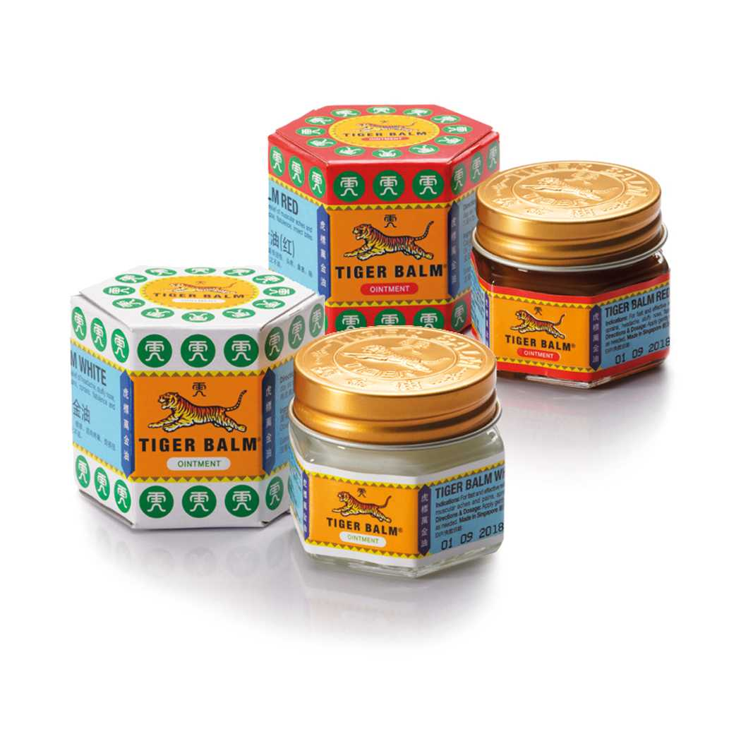 Tiger Balm, What to buy in Singapore