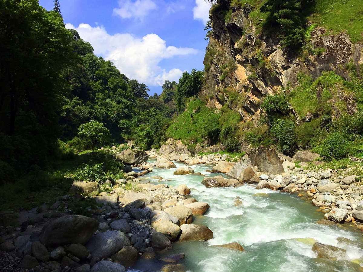 Tirthan River