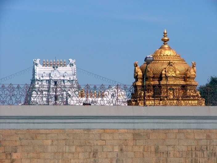 Tirumala Temple Gopuram
