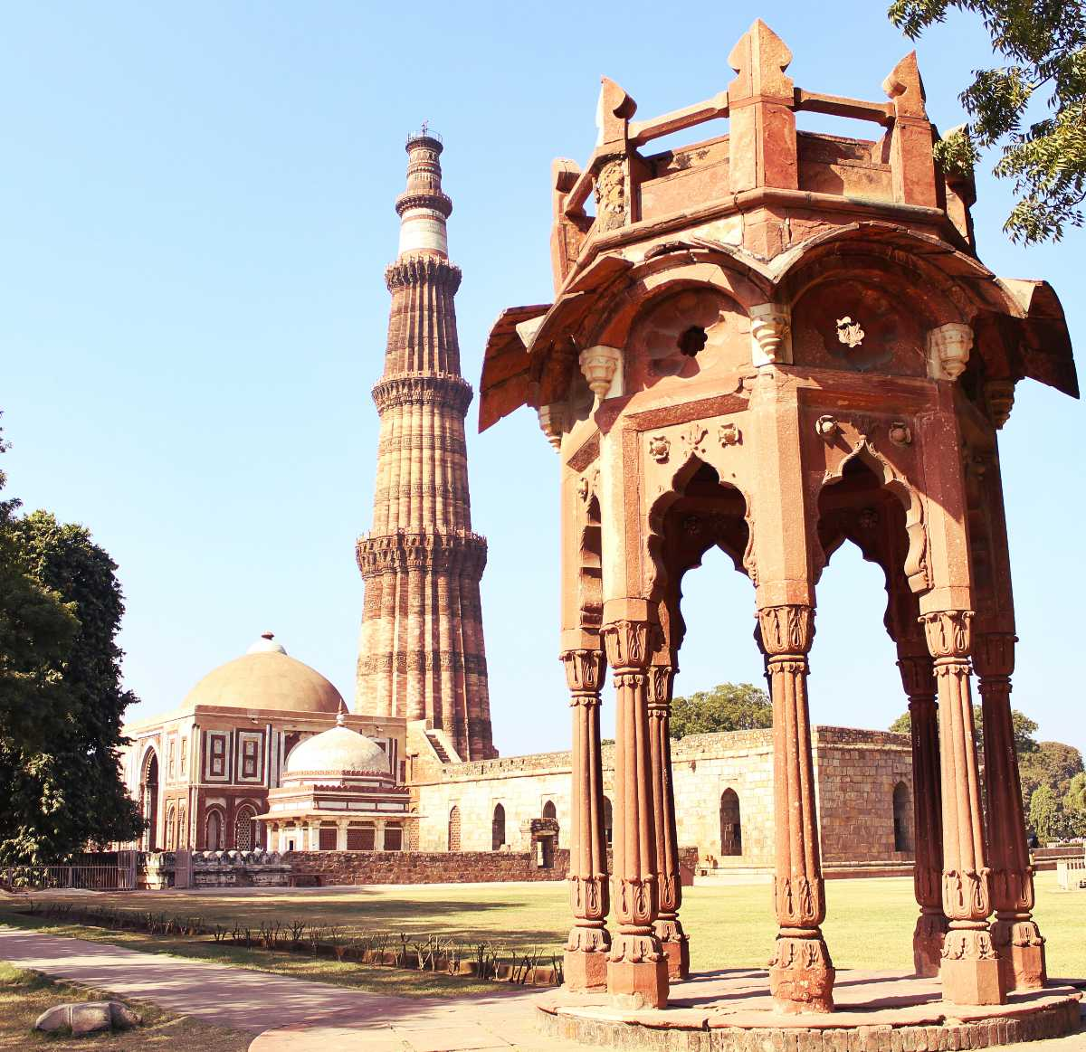 Architecture of Qutub Minar