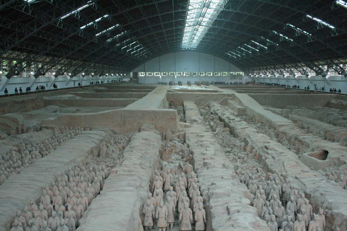 Tomb of Qin Shi Huang, Forbidden Places around the World