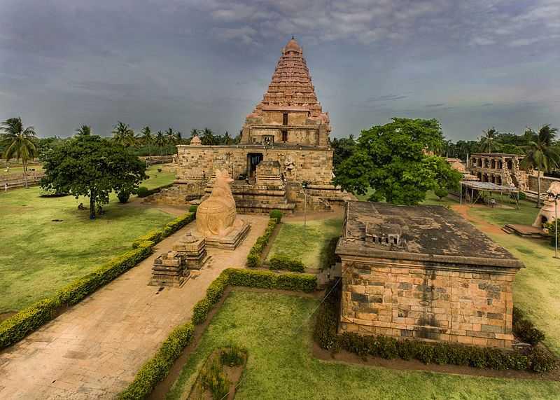 Gangaikonda Cholapuram (Brihadisvara Temple), Great living Chola temples