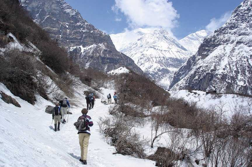 A landscape of Nepal that'll take your breath away; Annapurna region, a blend of nature and adventure.