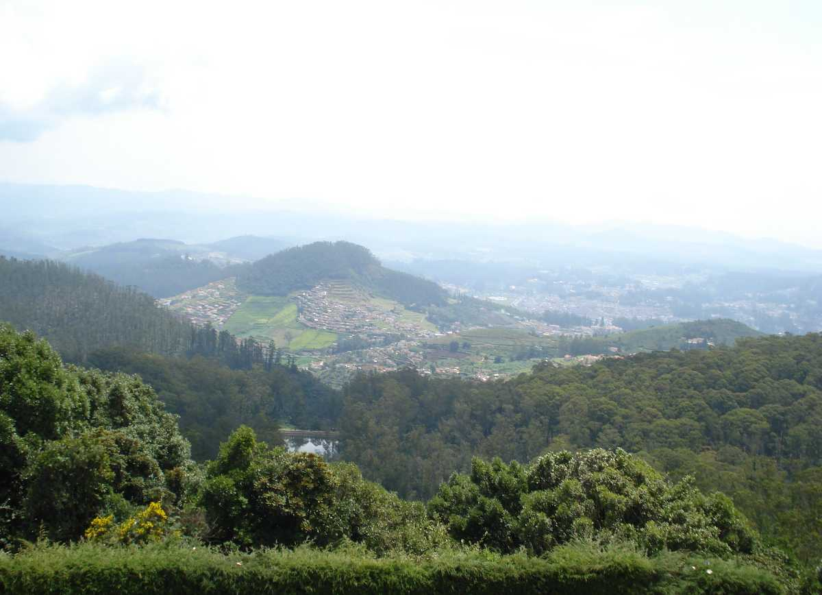 Town View of Kotagiri